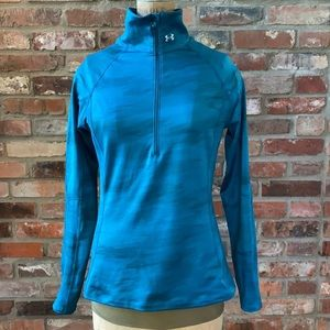 Under Armour Womens 1/2-Zip Pullover Size Large
